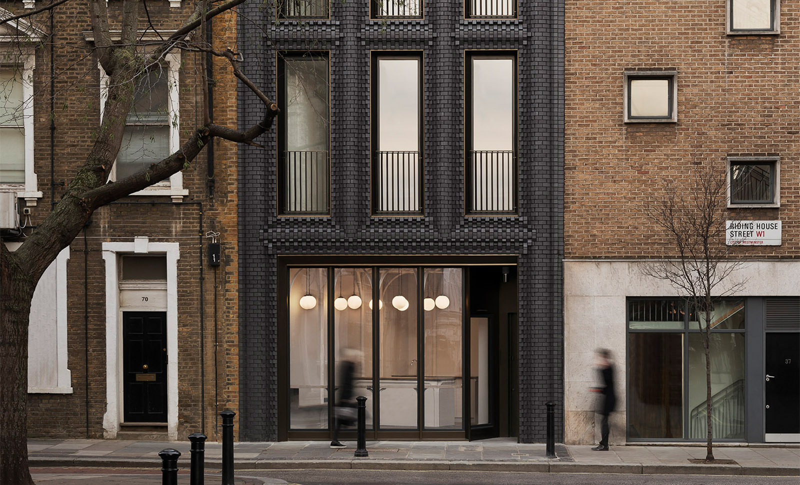 The Interlock, Riding House Street, London
