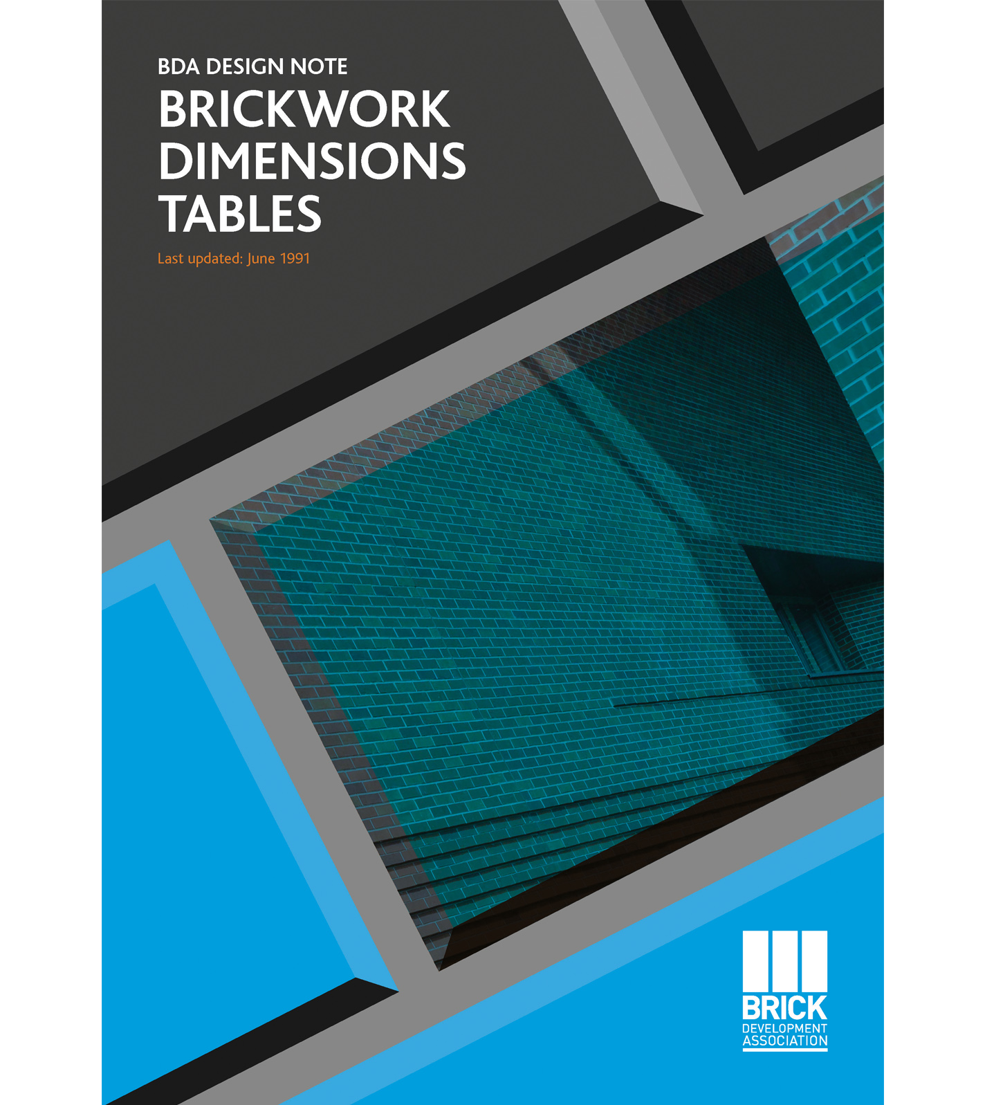 BRICKWORK DIMENSIONS TABLES