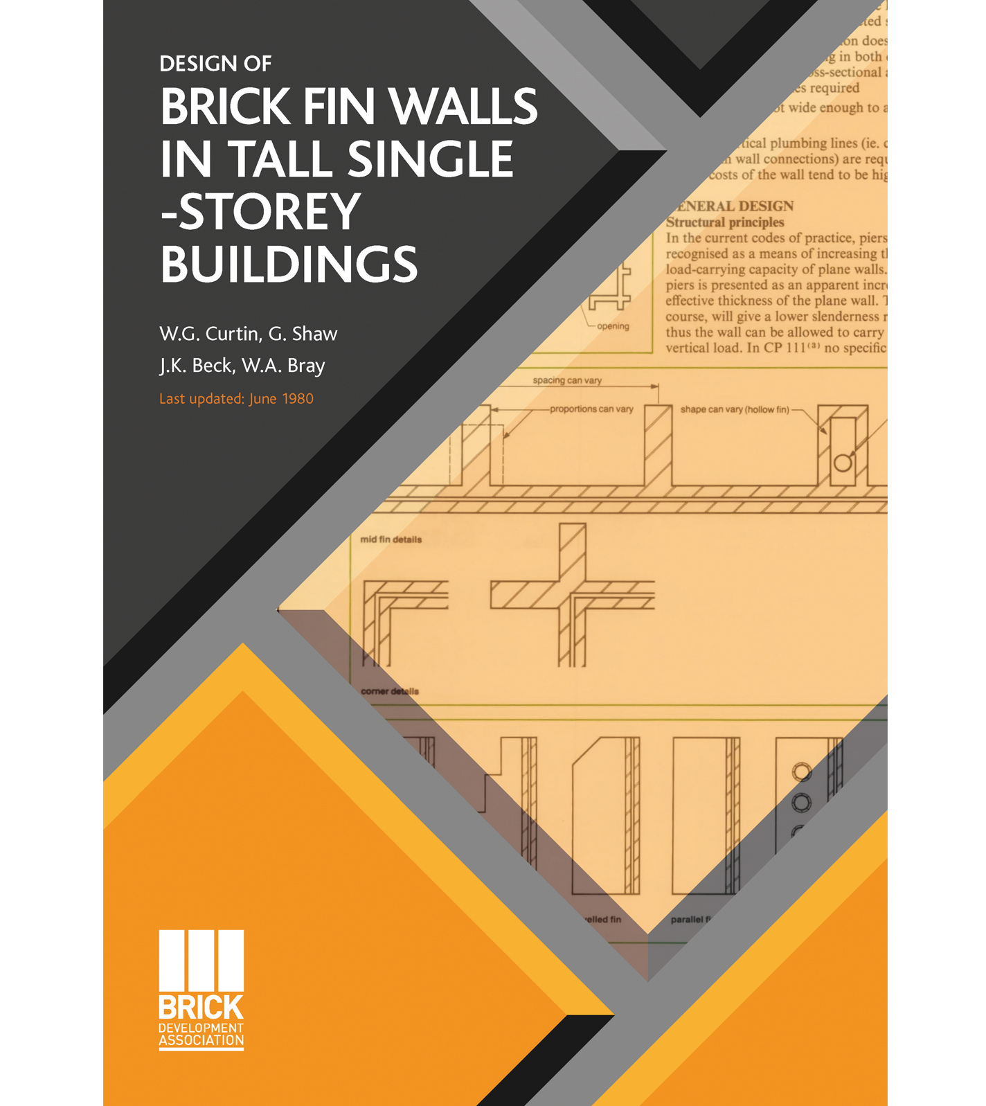 BRICK FIN WALLS IN TALL SINGLE-STOREY BUILDINGS