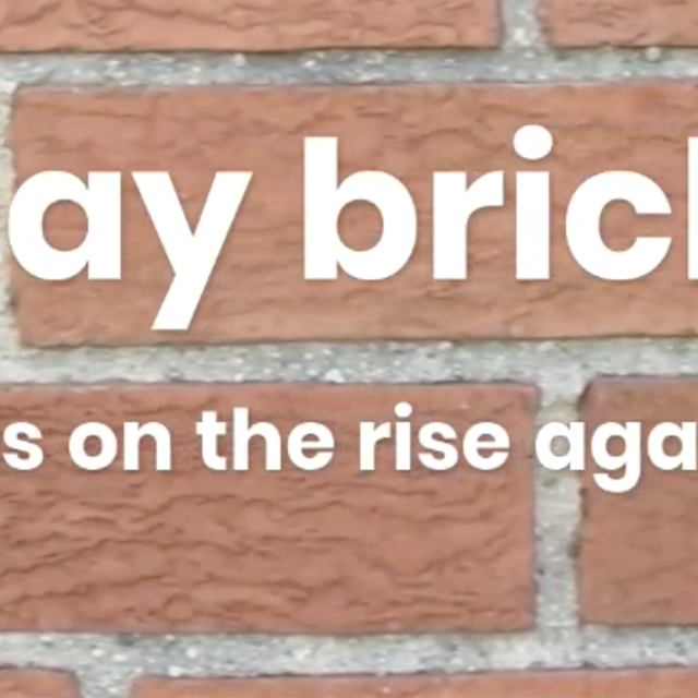 Clay Brick... Is on the rise again!